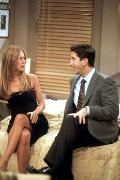 Ross and Rachel: The one with Monica's thunder