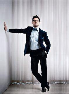 Interview with the Dolce & Gabbana supermodel David Gandy ~ David James Gandy