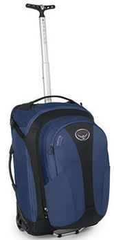 Looking for a bag that can be wheeled or carried on your back? Check out the Osprey Packs Ozone Convertible bag. #Travel #Travelbag Available on Amazon for under $300.00