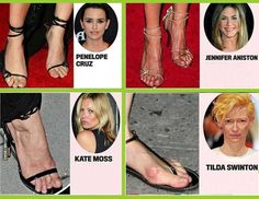 Top 5 Celebrities Having The Ugliest Feet :http://www.gonou.net/top-5-celebrities-having-the-ugliest-feet/
