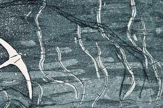 Ancora Calcografia Giclée di PlumPlumCreations su Etsy