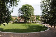 Bruehlgutpark in Winterthur, Switzerland. By Rotzler Krebs Partner