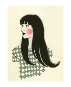 Girl Fashion Illustration