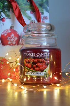 Go check out my blog post!    #yankeecandle #candle #blackcherry #fairylights #christmas #gift #aesthetics Pretty Good, Fairy Lights, About Me Blog, Aesthetics, Candles, Check, Christmas, Gifts, Xmas