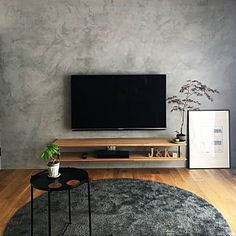 Living Room Plan, Small Living Rooms, Living Room Interior, Living Room Decor, Living Room Tv Unit Designs, Home Room Design, Home Office Decor, House Rooms, Tv Wall Shelves
