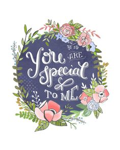 You are Special Print - Makewells on etsy!