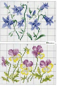 Cross Stitch Needles, Cross Stitch Rose, Cross Stitch Borders, Cross Stitch Flowers, Cross Stitch Charts, Cross Stitch Designs, Cross Stitching, Cross Stitch Patterns, Embroidery Flowers Pattern