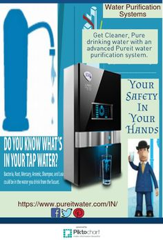Get Cleaner, Pure #drinkingwater with an advanced #Pureit #waterpurificationsystem.