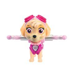 Amazon.com: Nickelodeon, Paw Patrol - Action Pack Pup & Badge - Skye: Toys & Games