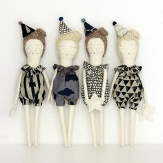 New Party Hat Doll Collection by Severina Kids