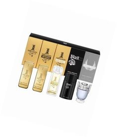 Paco #rabanne #miniatures gift set 5ml 1 million edt + 5ml 1 million #intense + 7,  View more on the LINK: http://www.zeppy.io/product/gb/2/162348714117/