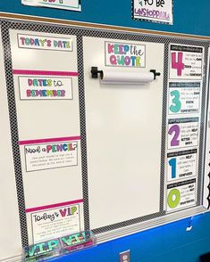 When choosing classroom routines, I try to think about a couple different factors: Does it fit the needs of my kiddos? Will this benefit… - New Deko Sites 5th Grade Classroom, Middle School Classroom, Classroom Design, Future Classroom, Classroom Organisation, Teacher Organization, Teacher Tools, Classroom Management, White Board Organization