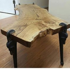 Wow! Now that's a wood table!