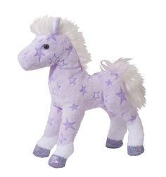 "Douglas 8"" Plush Animal Solstice Purple Star Horse"