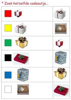 * Zoek hetzelfde cadeautje! 1-2