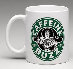 Starbucks Disney Inspired Toy Story Buzz Lightyear Coffee Mug Tea Cup