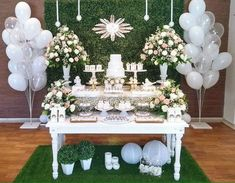 New baby boy baptism party ideas center pieces 21 ideas Baptism Party Decorations, First Communion Decorations, First Communion Party, Baptism Reception, Candy Bar Party, Christening Party, Baby Boy Baptism, 18th Birthday Party, Boy Decor