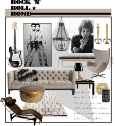 """Rock and Roll"" by hellodollface on Polyvore"