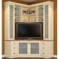 corner entertainment unit - Corner Wall Unit Designs