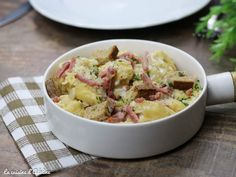 Alsace, Classic French Dishes, Egg Recipes, Potato Salad, Adeline, Pasta, Voici, Cooking, Ethnic Recipes