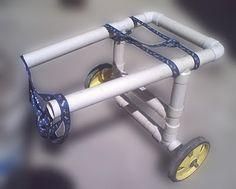 Hacer una silla de ruedas para perros perritos | ..:: El Blog de ShurKonrad ::.. Perú _/