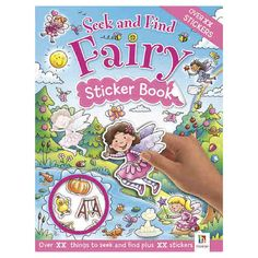 Seek & Find Fairy: Sticker Book