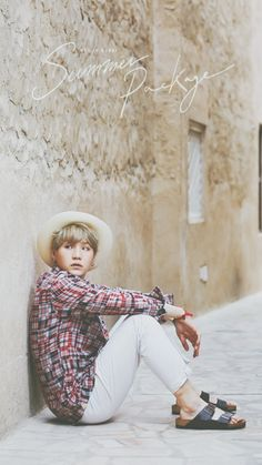 Suga-oppa, don't sit on the ground in white pants. Please.