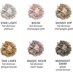 Ultra Foil Shimmer Shadows ($40) ❤ liked on Polyvore featuring beauty products, makeup, eye makeup, eyeshadow, paraben free eyeshadow and palette eyeshadow