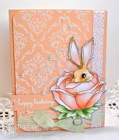 ChristineCreations: Birthday Bunny