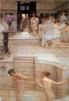 bath house  Model for Elven baths