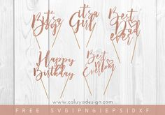 Download Free cake topper SVG cut file that are compatible with Cricut, Cameoo Silhouette and other Major Cutting Machines. Perfect for Easter DIY Project!