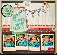 A Project by jennimoc from our Scrapbooking Gallery originally submitted 11/10/11 at 11:16 PM