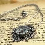 Compass necklace - perfect gift for someone who likes to get lost while traveling!