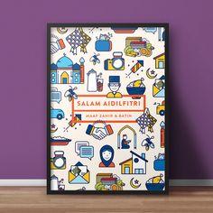 Hari Raya Aidilfitri — Print/Merchandise Set on Behance