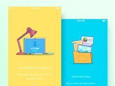 Google Illustrations by Zaib Ali - Dribbble