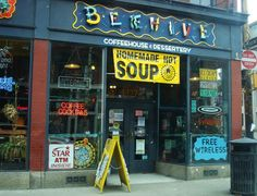 Beehive - Coffeehouse and desserts 1327 E Carson St, Pittsburgh, PA 15203 Pittsburgh Neighborhoods, Visit Pittsburgh, Travel Goals, The Places Youll Go, Travel Usa, My Town, The Neighbourhood, Things To Do, Road Trip
