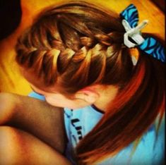 43 New ideas braids hairstyles for sports softball volleyball # french Braids bangs Athletic Hairstyles, Volleyball Hairstyles, Gym Hairstyles, Volleyball Braids, Volleyball Tips, Volleyball Outfits, Volleyball Pictures, Everyday Hairstyles, French Braided Bangs