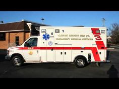 Remounted Ambulance Delivery by VCI to Clifton Heights RV244
