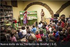 Biblioteca Municipal de Binéfar (Huesca): interior