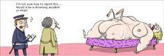 Drowning. Peanuts Comics, Funny, Ha Ha, Hilarious, Humor