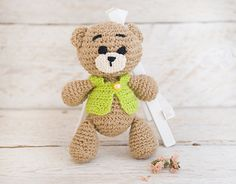 Teddy bear plush stuffed toy Valentines day gift for her Crochet Teddy bear Children's toy Soft safe toy Kids small toy Woodland animal Gift Crochet Teddy bear Kids toys woodland animal animal doll Teddy bear Children's toy Gift under 20 Ready to ship safe toy plush stuffed toy Kids small toy Valentines day gift gift for her 16.00 USD #goriani