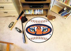 NCAA Auburn Tigers Baseball Doormat