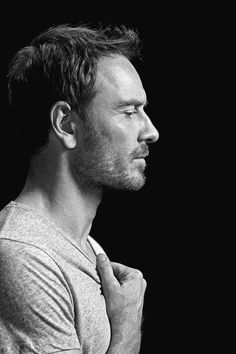 fassysource: Michael Fassbender by John Russo for Vanity Fair. fassysource: Michael Fassbender of Michael Fassbender, Foto Portrait, Portrait Photography, Fantasy Male, James Mcavoy, Jake Gyllenhaal, Black And White Portraits, Attractive Men, Vanity Fair