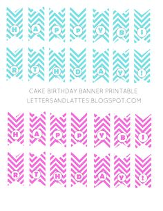 Free Printable Birthday Banners | Free Printable Doll Sized Happy ...