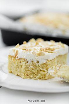 Ciasto 'tres leches' czyli meksykańskie ciasto mleczne