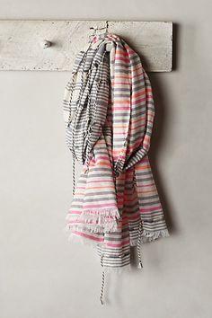 tamariz striped scarf / anthropologie