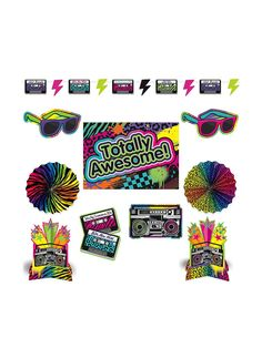 80's party pack