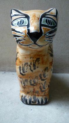 Pottery Cat from Porches Portugal