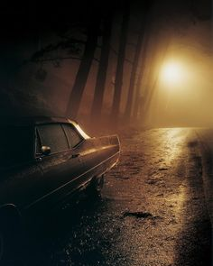 Intimate Distance, by American photographer Todd Hido, is a mid-career retrospective of sorts, chronologically going through his individual bodies of work. Cinematic Photography, Night Photography, Street Photography, Art Photography, Narrative Photography, Nocturne, Supernatural Series, Rpg Cyberpunk, Todd Hido