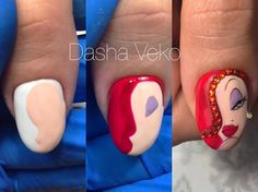Nails University. Ногти и Маникюр пошагово. Pop Art Nails, Dot Nail Art, Nail Art Diy, Diy Nails, Cartoon Nail Designs, Best Nail Art Designs, Picasso Nails, Holloween Nails, Wonder Nails